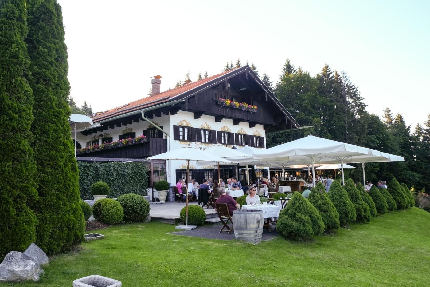 Freihaus Brenner Bad Wiessee Speisekarte