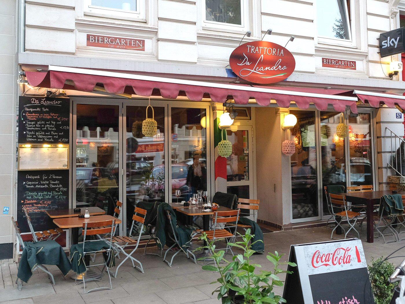 Italienisches restaurant hamburg