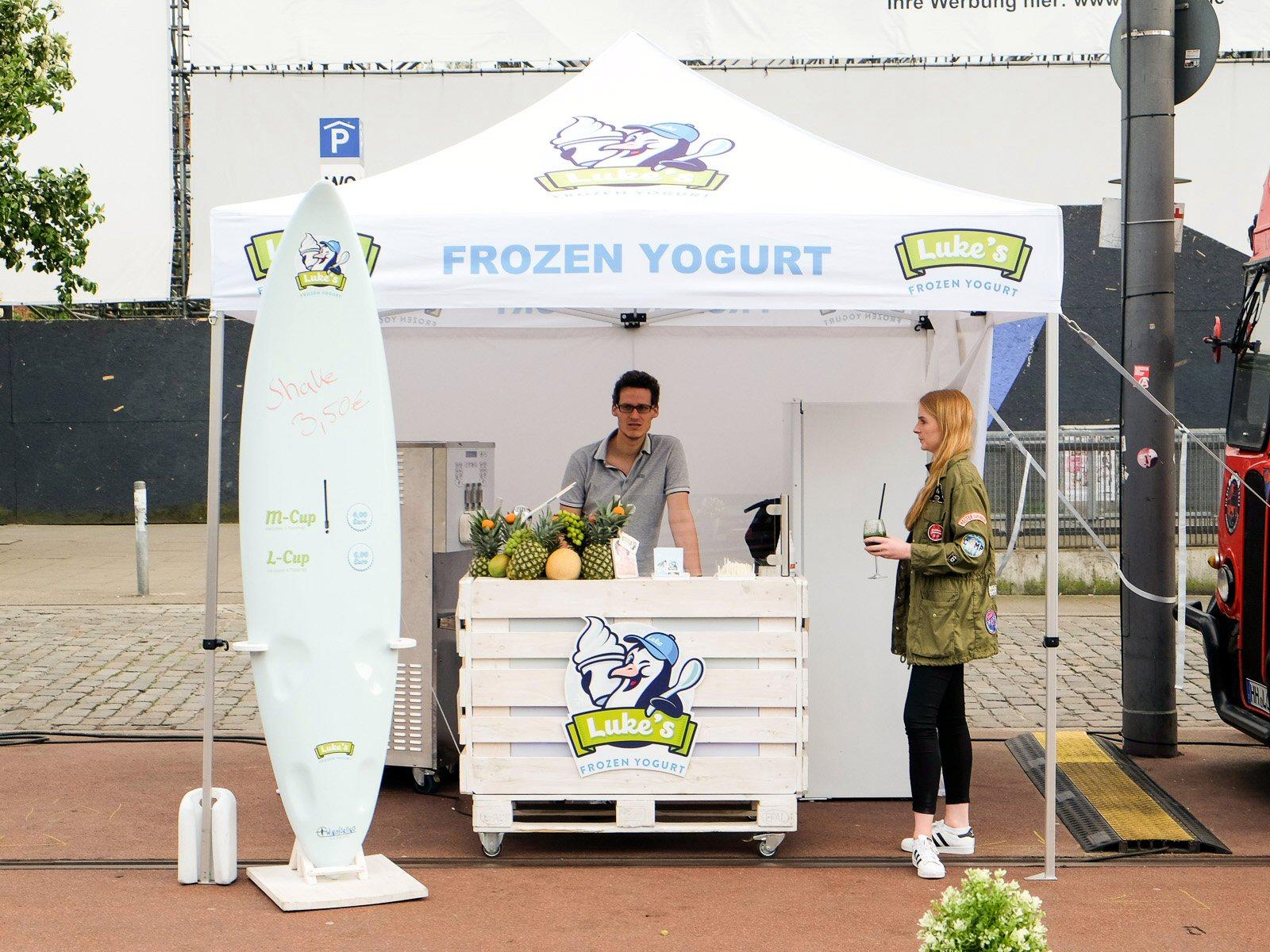 Frozen joghurt hamburg