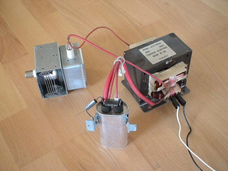Mikrowelle kondensator entladen